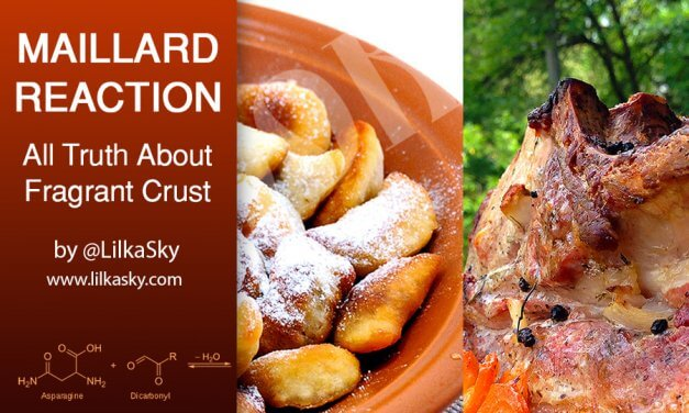 MAILLARD REACTION:  ALL TRUTH ABOUT FRAGRANT CRUST